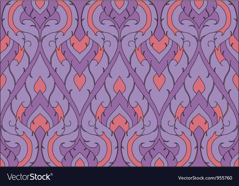 Thai pattern graphic vector | Price: 1 Credit (USD $1)
