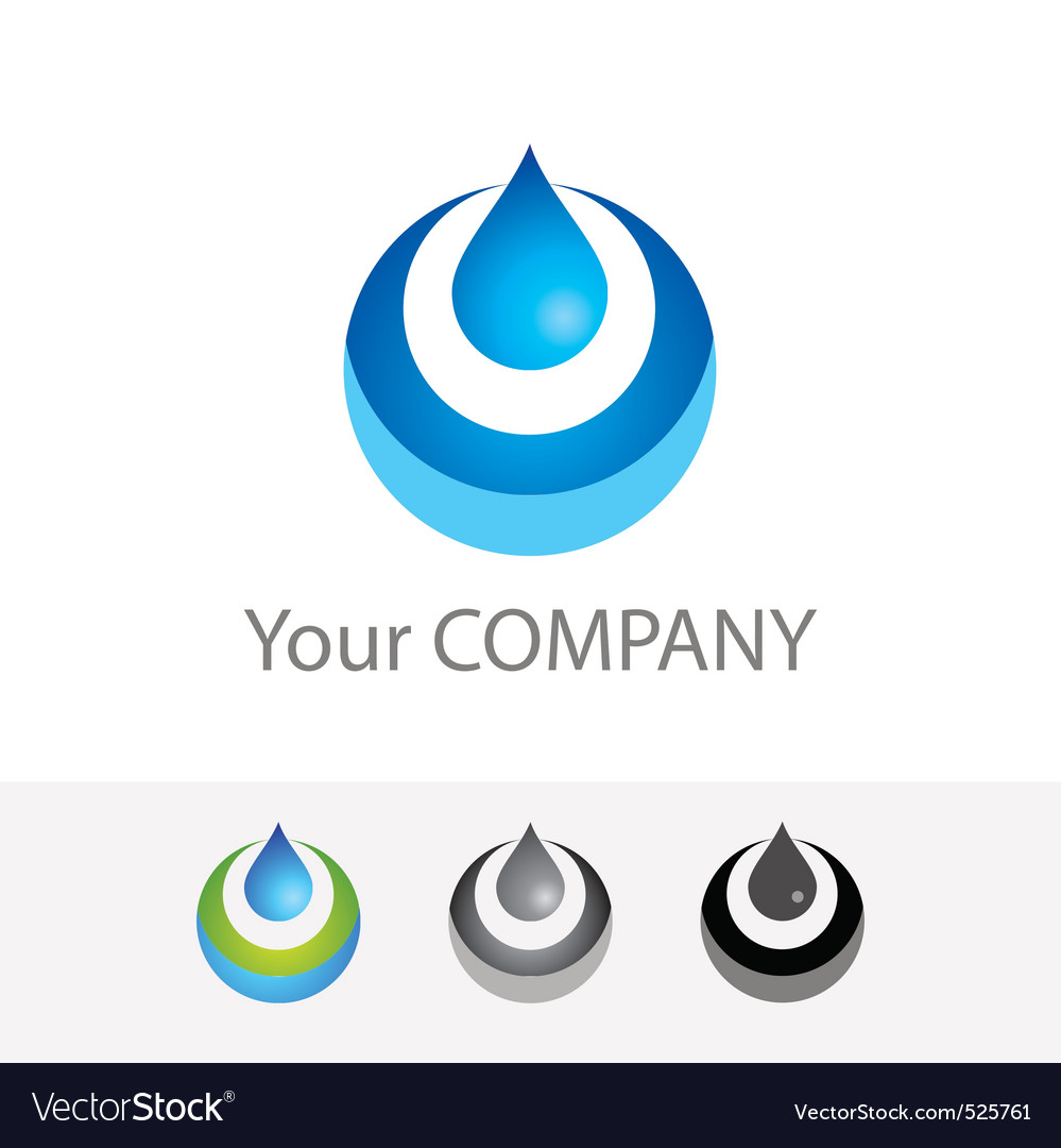 Pure water vector | Price: 1 Credit (USD $1)