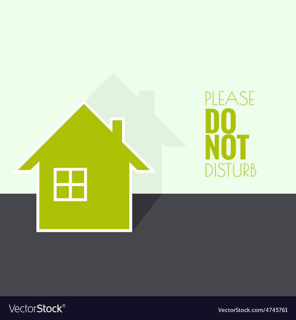 The symbol of a dwelling house vector | Price: 1 Credit (USD $1)