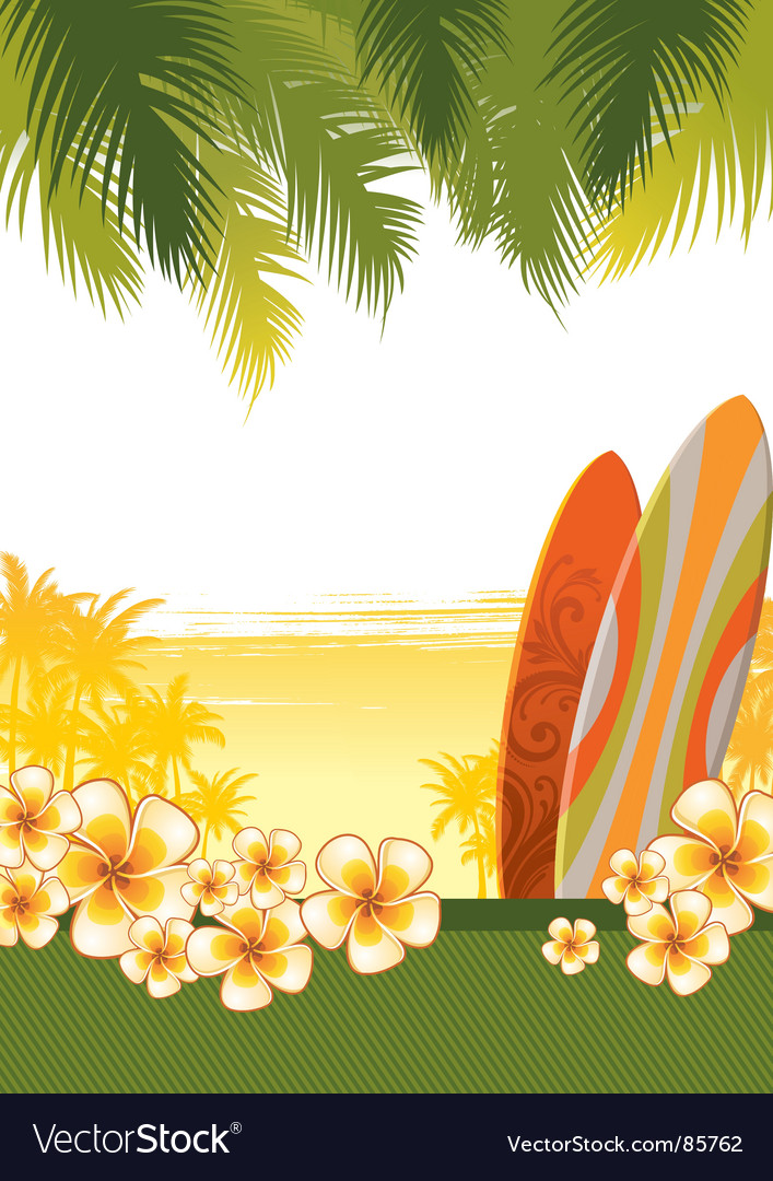 Surfboards vector | Price: 1 Credit (USD $1)