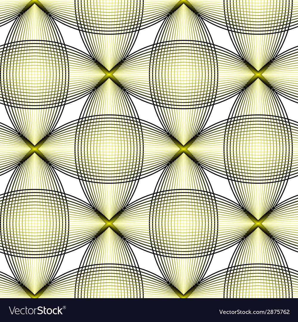 Symmetric retro pattern vector