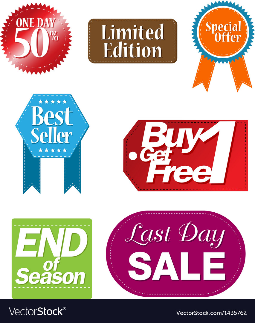 Tag shopping vector | Price: 1 Credit (USD $1)