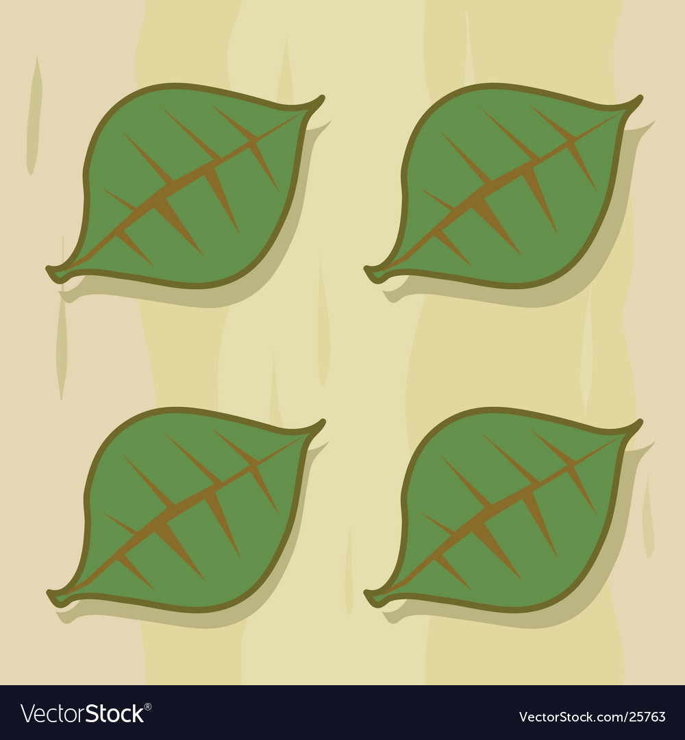 Four leaf panel vector | Price: 1 Credit (USD $1)