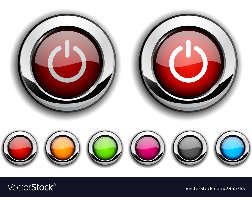 Switch button vector | Price: 1 Credit (USD $1)
