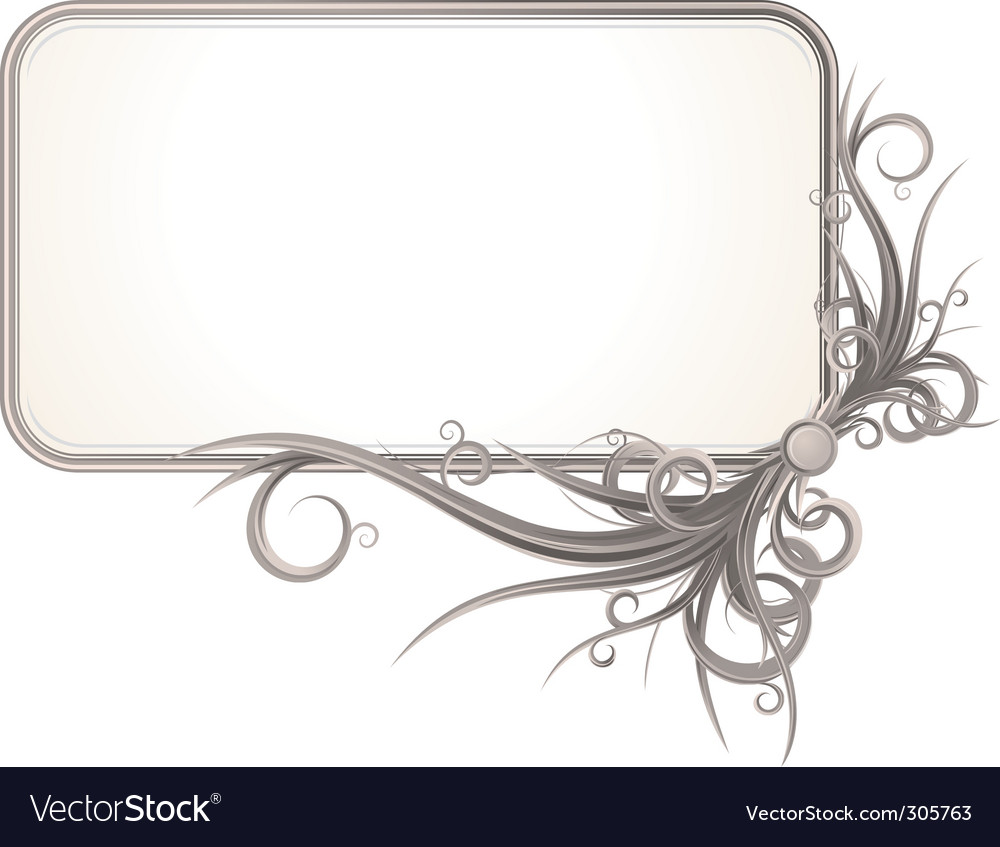 Vintage ornate card vector | Price: 3 Credit (USD $3)