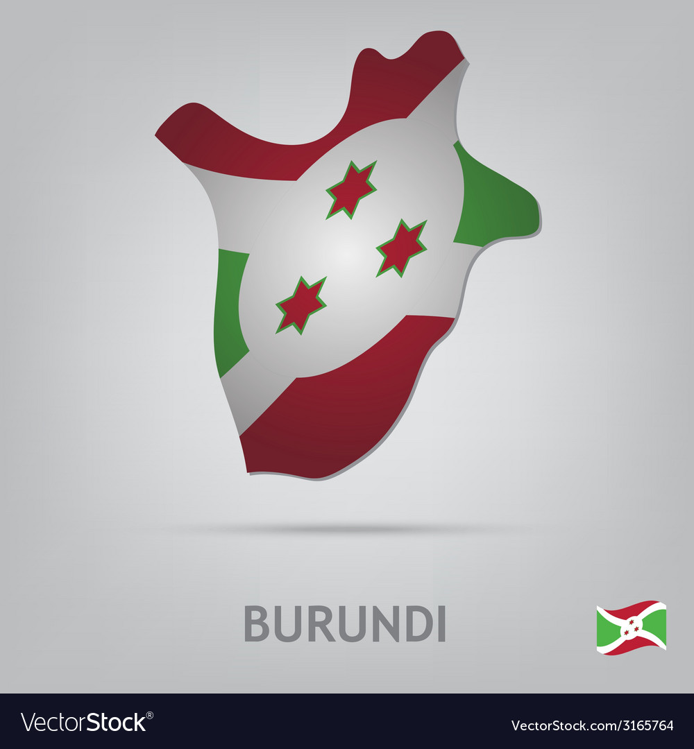 Burundi vector | Price: 1 Credit (USD $1)