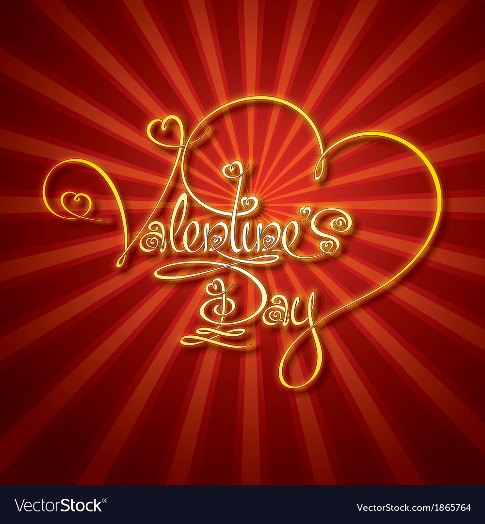 Glamorous gold valentines day vector   Price: 1 Credit (USD $1)