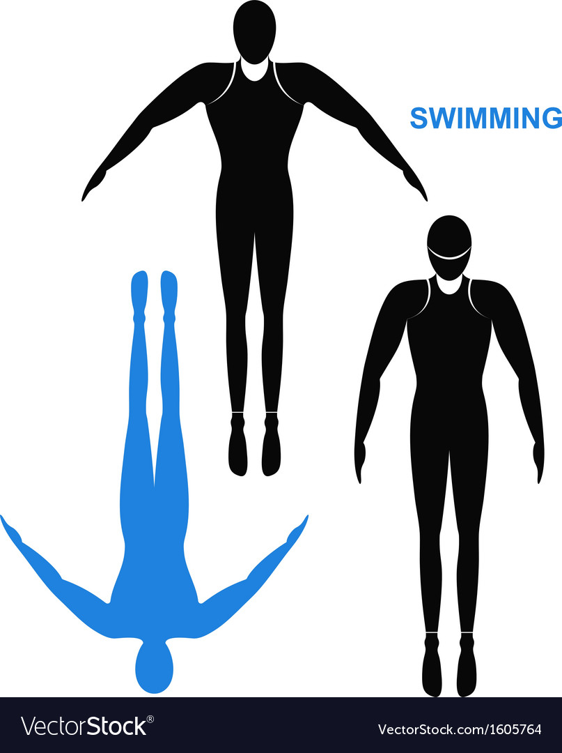 Swimmer vector | Price: 1 Credit (USD $1)