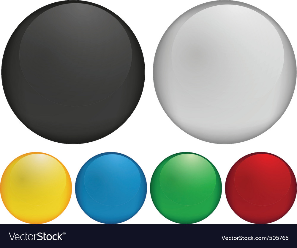 Blank buttons vector | Price: 1 Credit (USD $1)