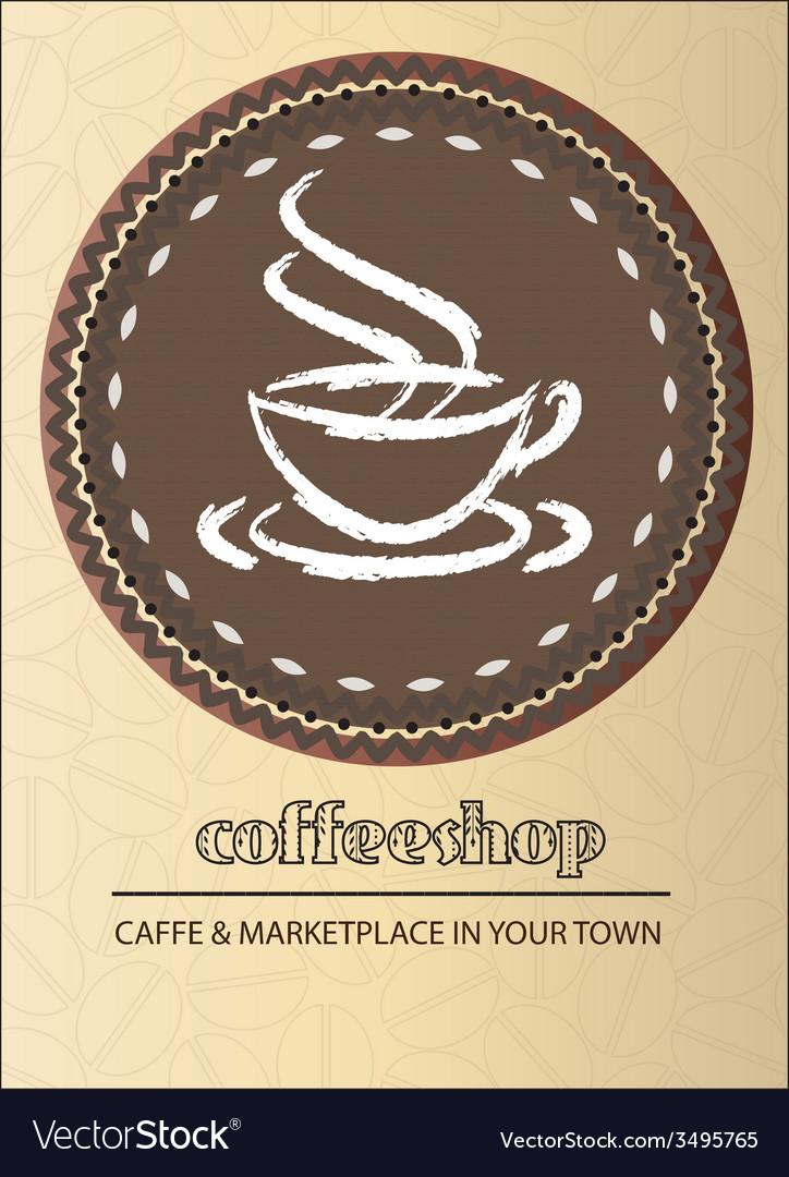 Coffeeshop vector | Price: 1 Credit (USD $1)