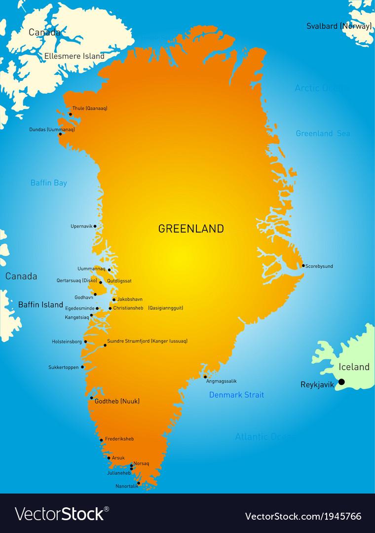 Greenland vector | Price: 1 Credit (USD $1)