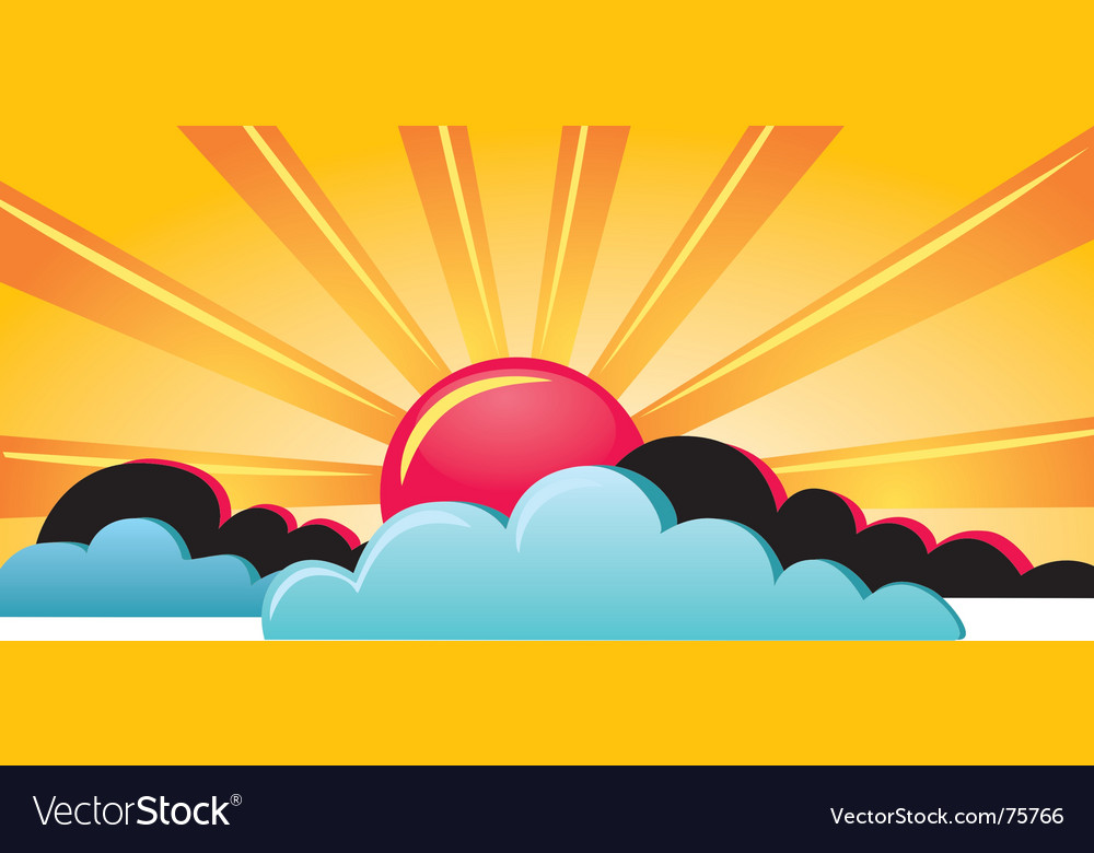 Skyscape vector | Price: 1 Credit (USD $1)