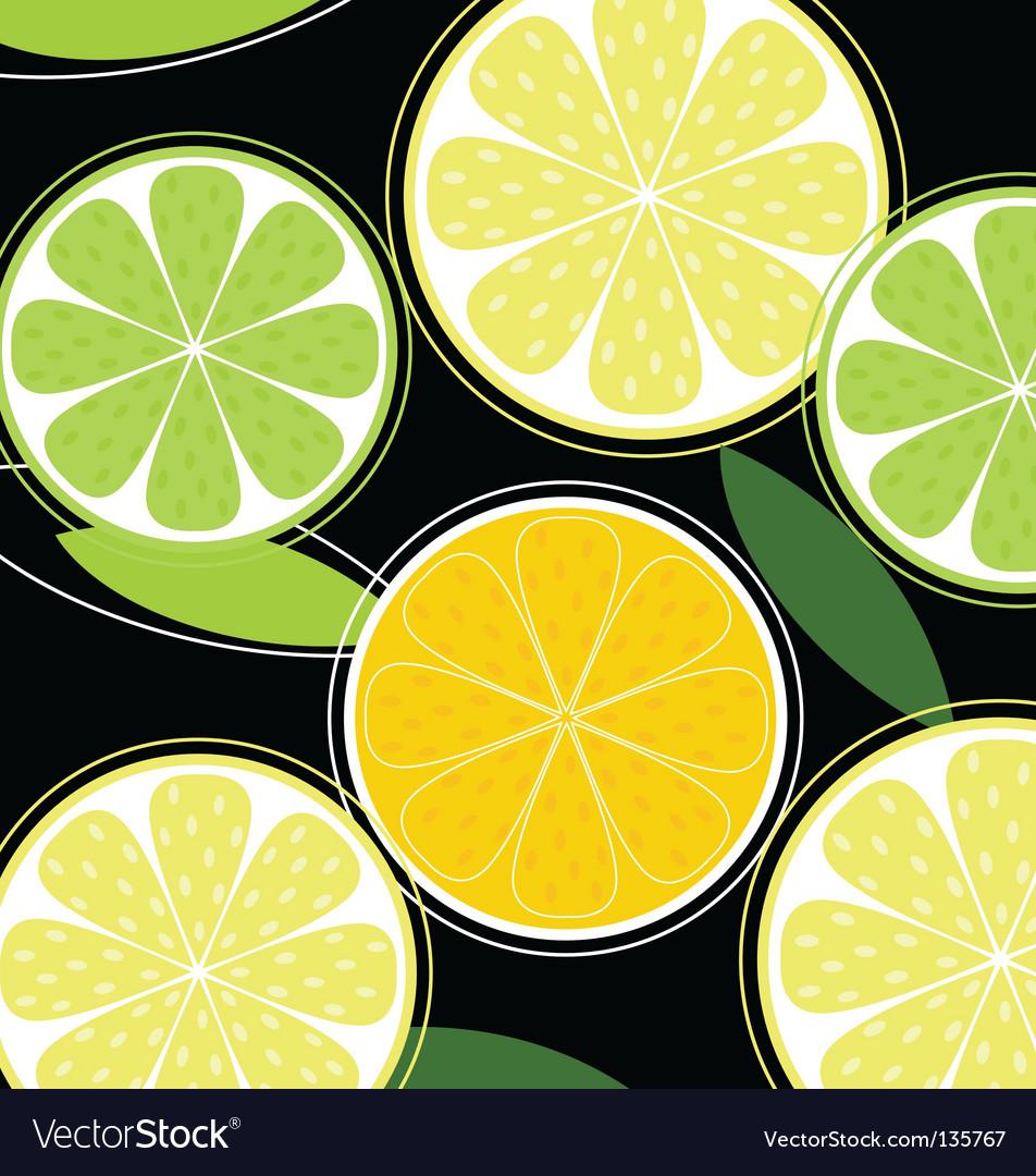 Citrus background vector | Price: 1 Credit (USD $1)