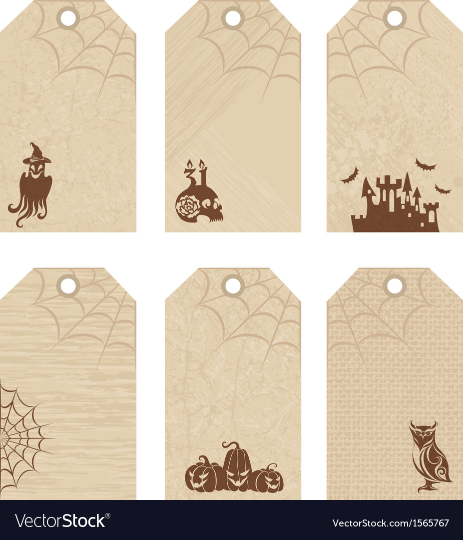 Halloween price tags vector | Price: 1 Credit (USD $1)