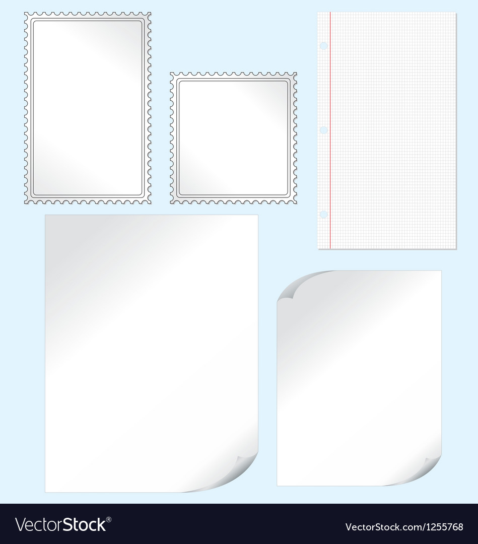 Papers vector | Price: 1 Credit (USD $1)