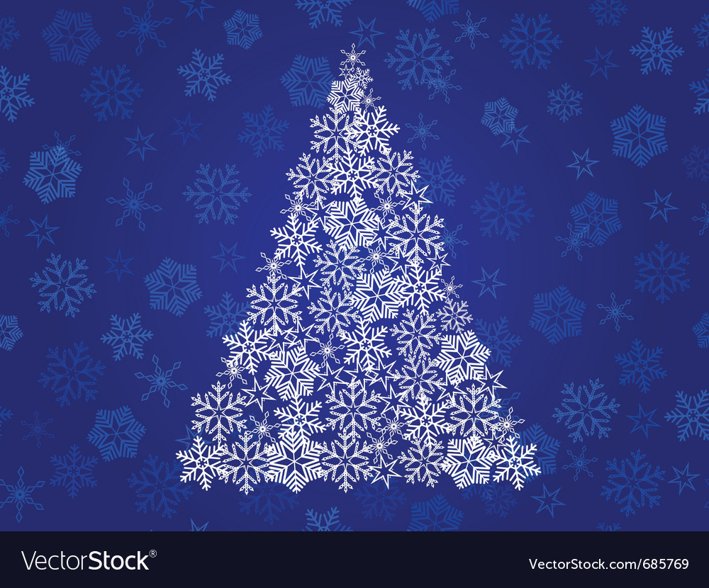 Abstract christmas tree vector   Price: 1 Credit (USD $1)
