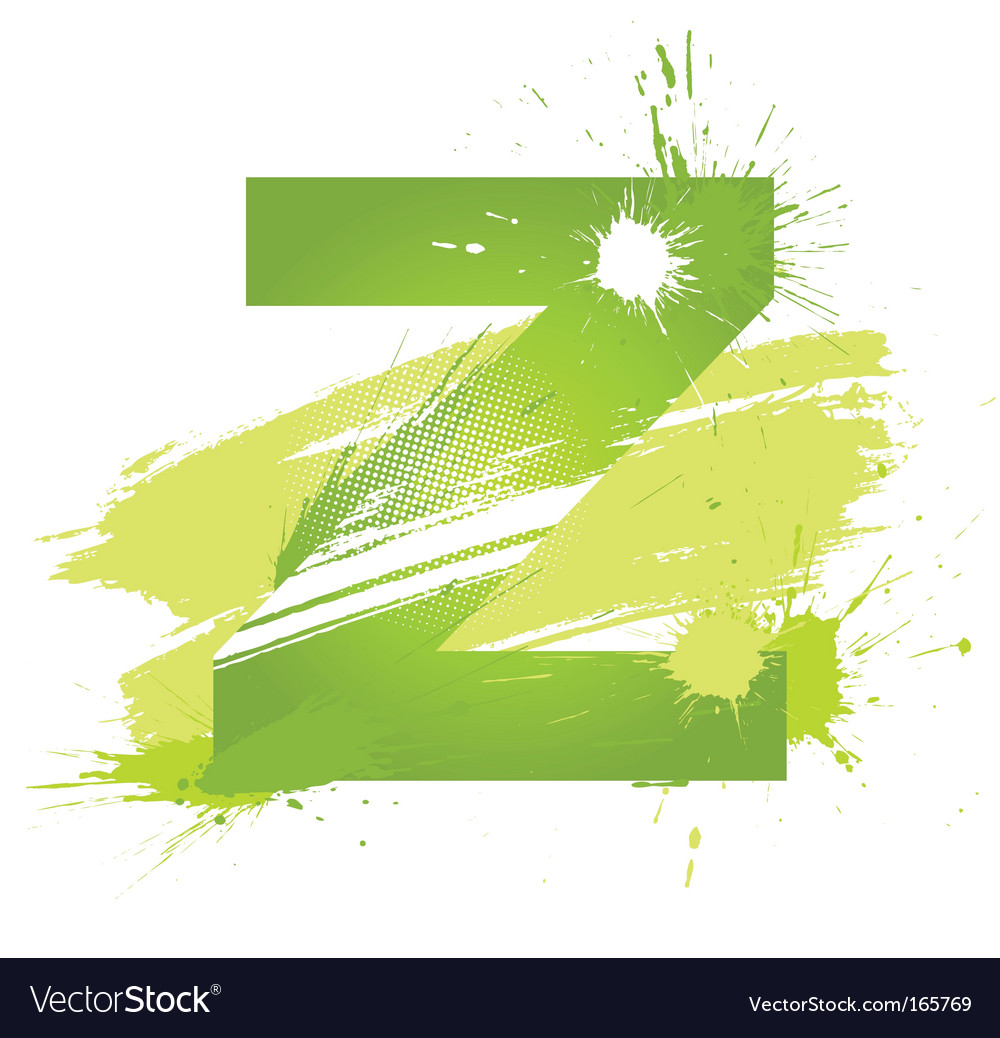 Font letter z vector | Price: 1 Credit (USD $1)