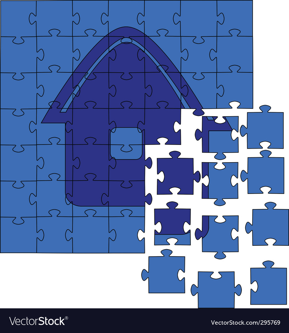 Jig saw puzzles vector | Price: 1 Credit (USD $1)