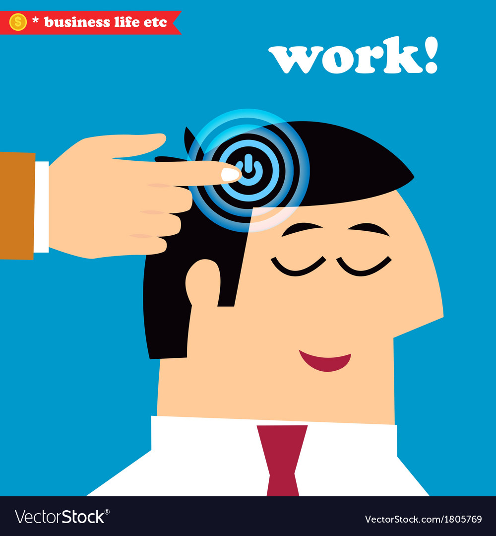 Wake up and work office weekdays vector | Price: 1 Credit (USD $1)
