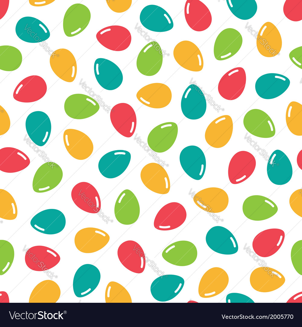 Easter seamless pattern 2 vector | Price: 1 Credit (USD $1)