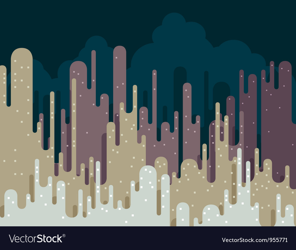 Abstract cityscape vector | Price: 1 Credit (USD $1)