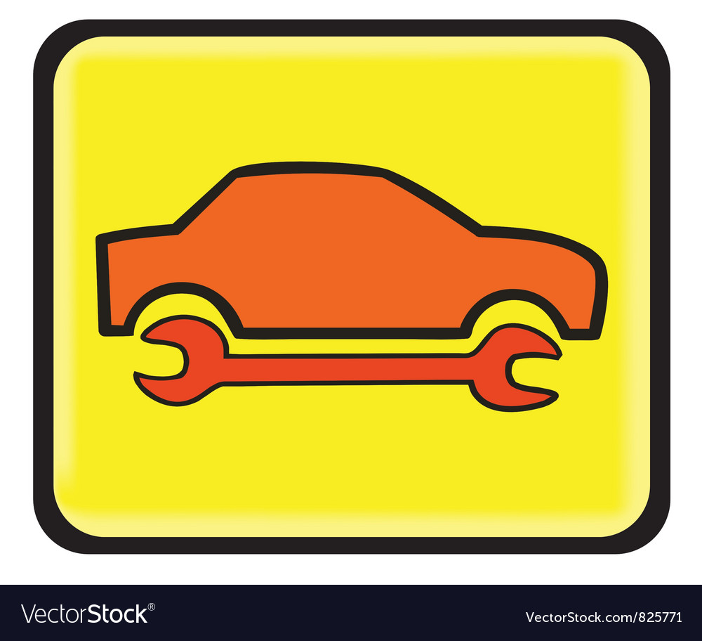 Auto service icon vector | Price: 1 Credit (USD $1)