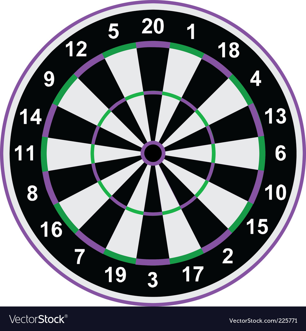 Classical darts vector | Price: 1 Credit (USD $1)