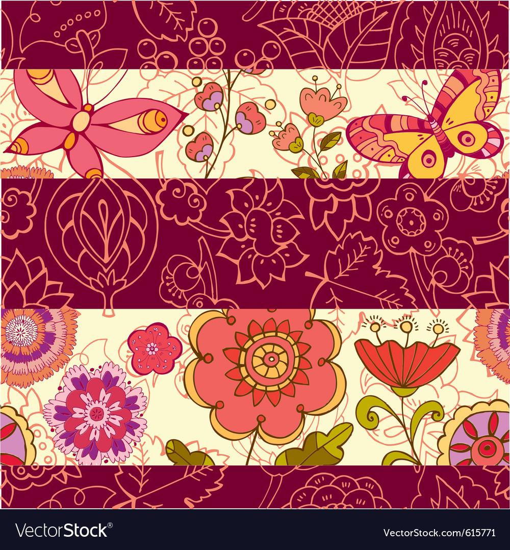 Cutesy scrapbook pattern vector | Price: 1 Credit (USD $1)