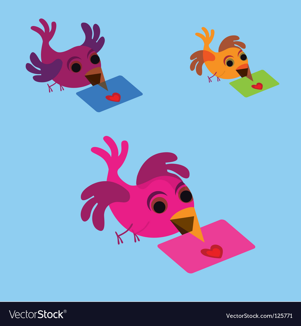 Message bird vector | Price: 1 Credit (USD $1)