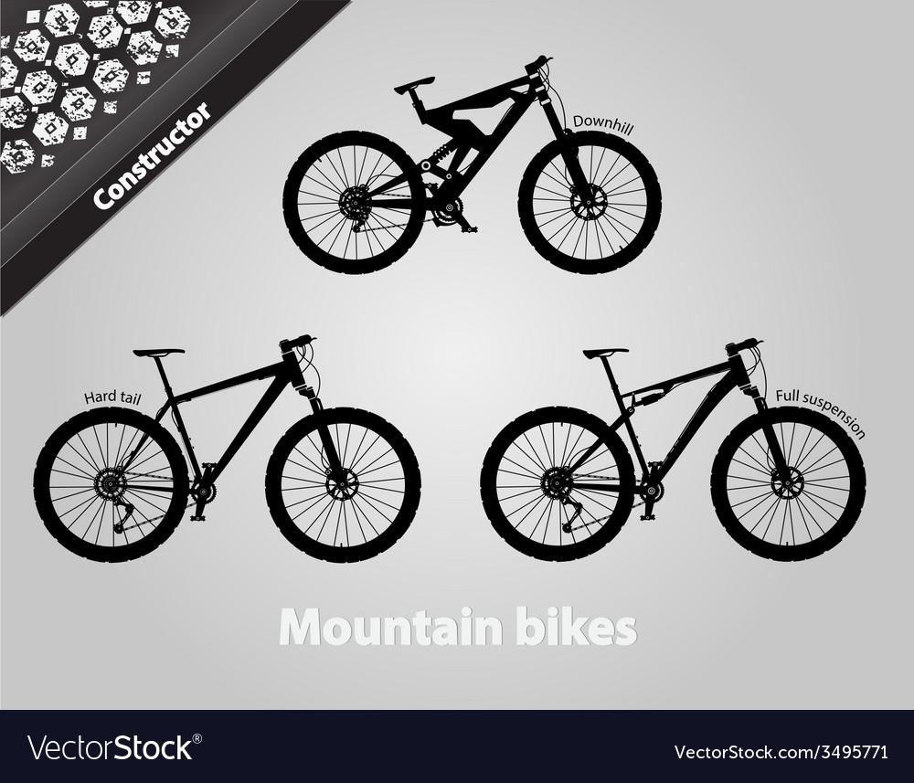 Mountain bikes vector   Price: 1 Credit (USD $1)