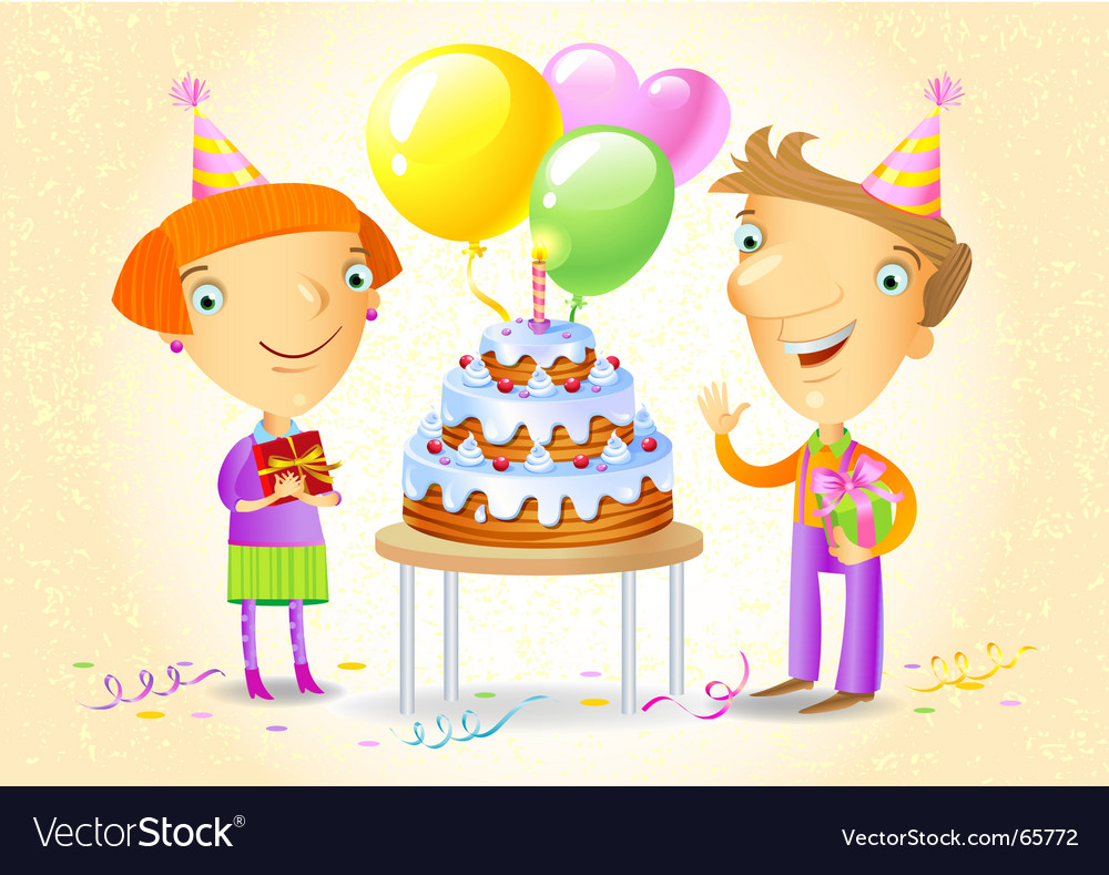 Birthday party vector | Price: 5 Credit (USD $5)