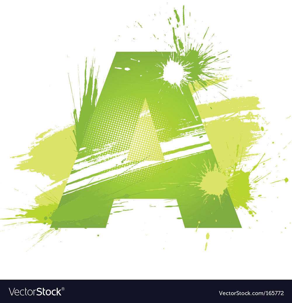Letter a background vector | Price: 1 Credit (USD $1)