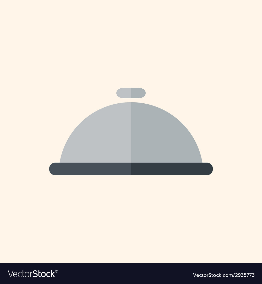 Dinner travel flat icon vector | Price: 1 Credit (USD $1)