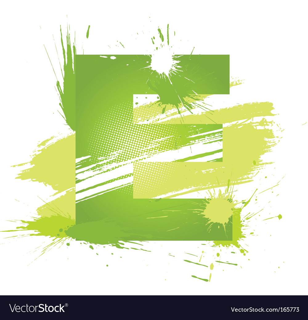 Letter e background vector | Price: 1 Credit (USD $1)