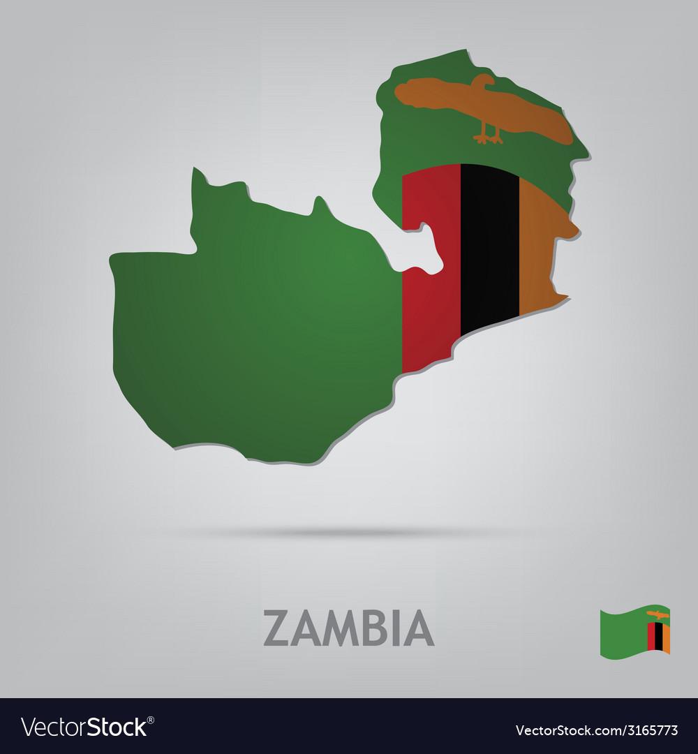 Zambia vector | Price: 1 Credit (USD $1)