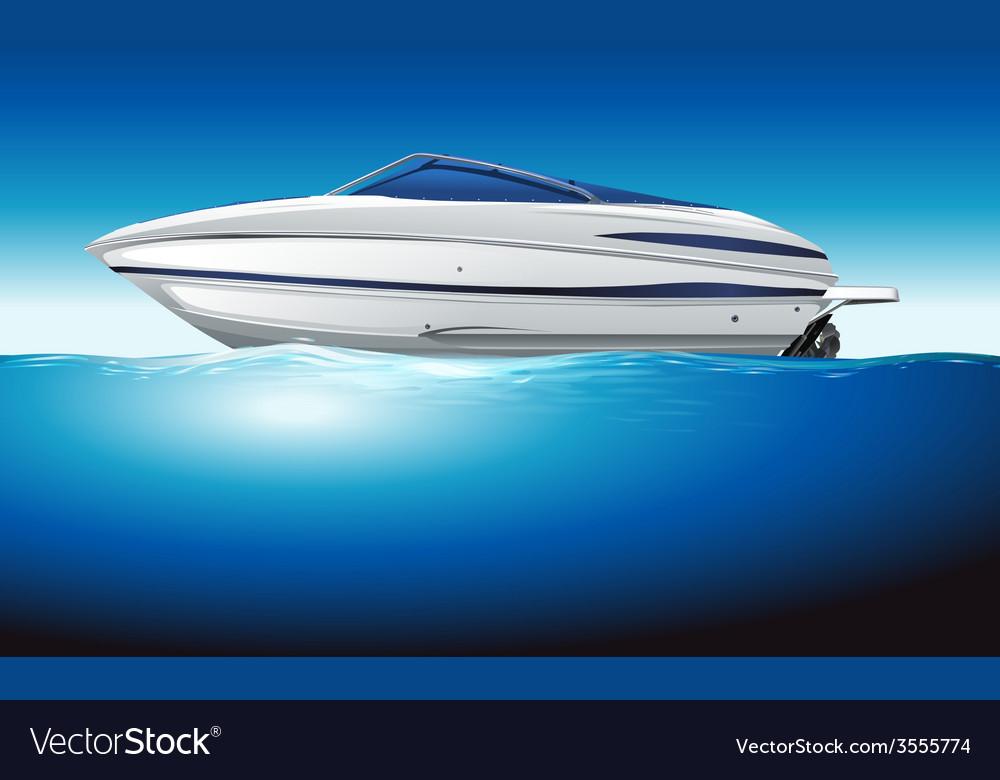 A boat vector   Price: 1 Credit (USD $1)