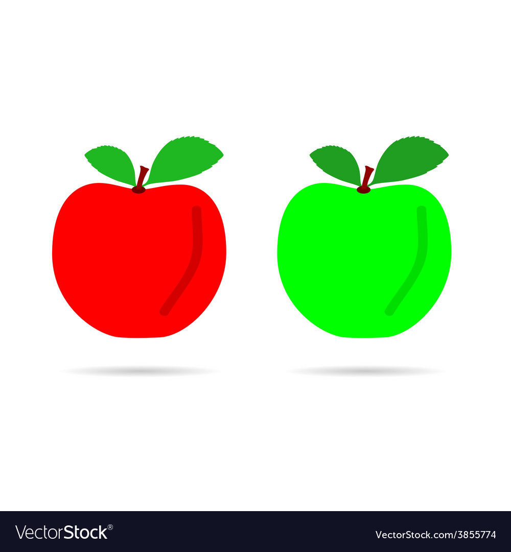 Apple color vector | Price: 1 Credit (USD $1)