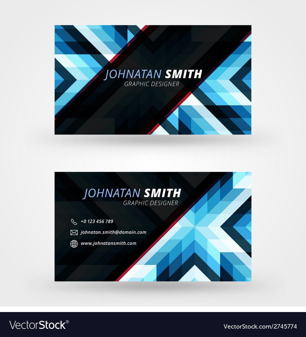 Creative business card design print templat vector   Price: 1 Credit (USD $1)