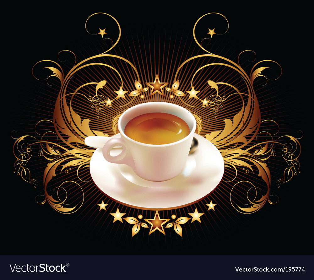 Cup of coffee vector | Price: 3 Credit (USD $3)