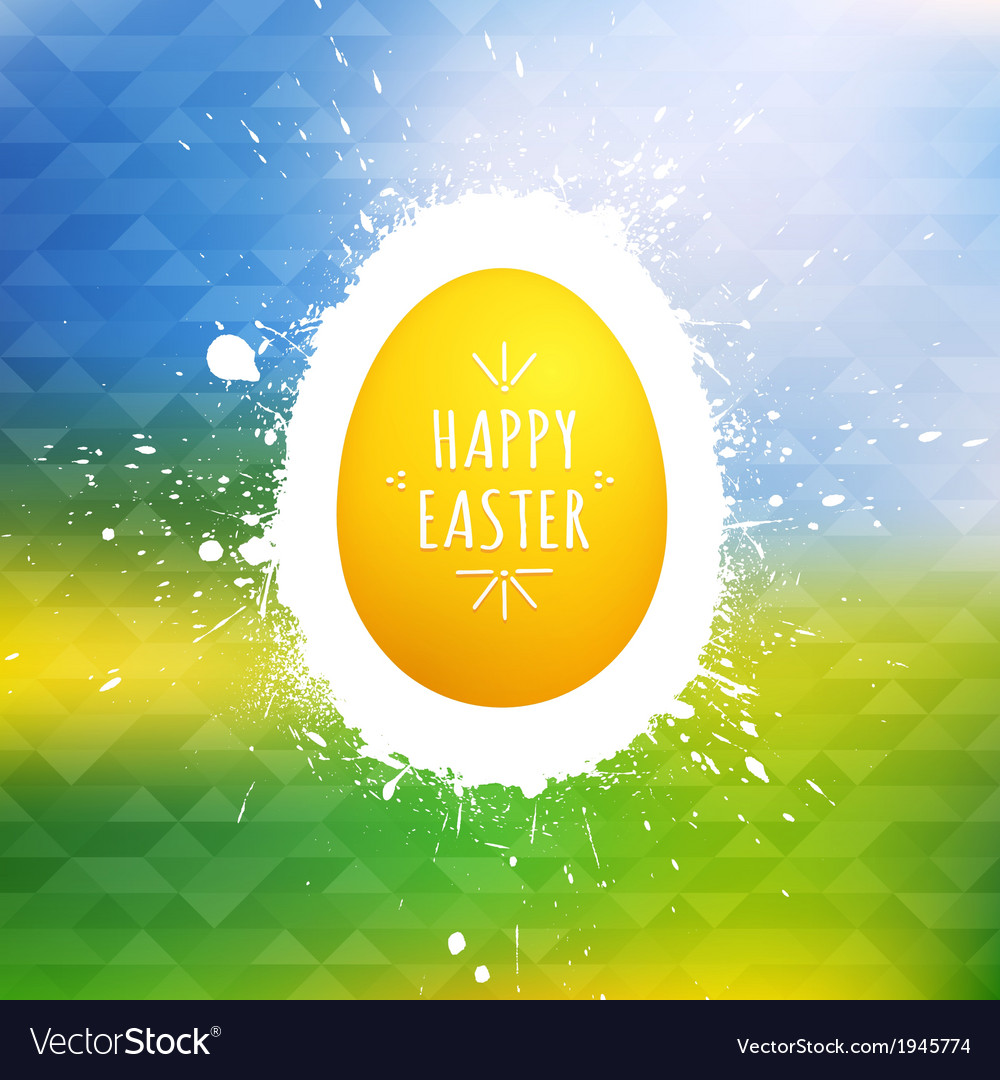 Happy easter background vector   Price: 1 Credit (USD $1)