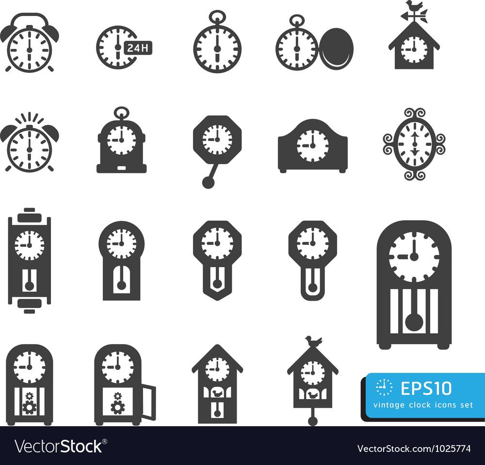 Icon clock vector   Price: 1 Credit (USD $1)