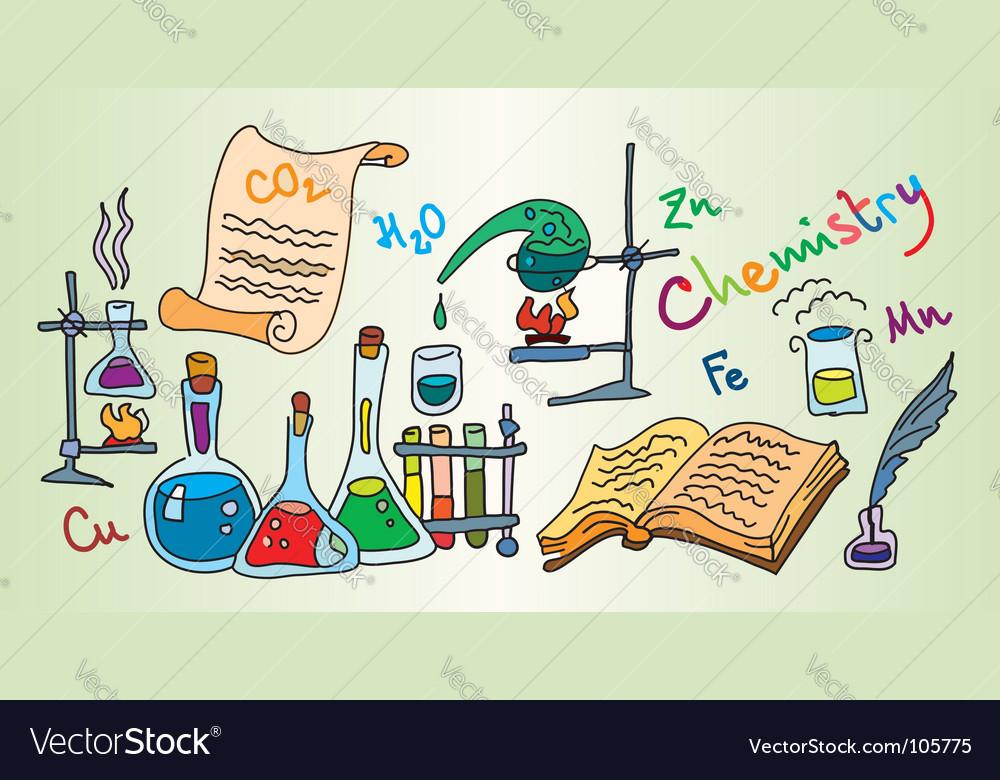 Chemistry lab vector | Price: 1 Credit (USD $1)