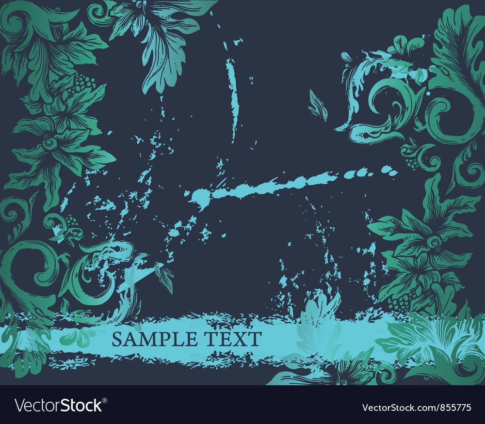 Grunge decorative label vector | Price: 1 Credit (USD $1)