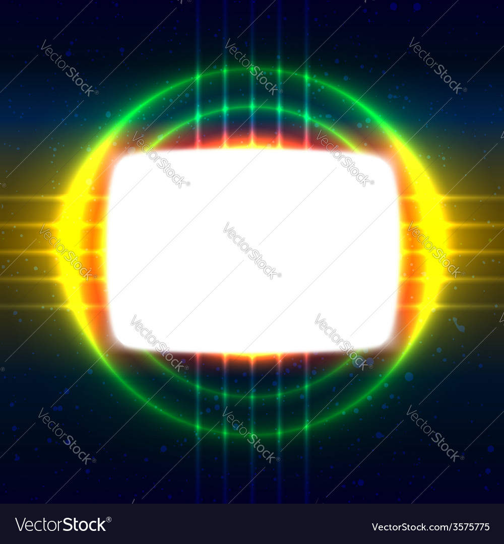 Shiny screen on the crossed wires vector   Price: 1 Credit (USD $1)