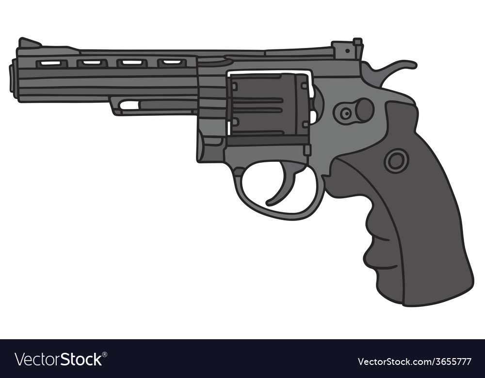 Big revolver vector | Price: 1 Credit (USD $1)