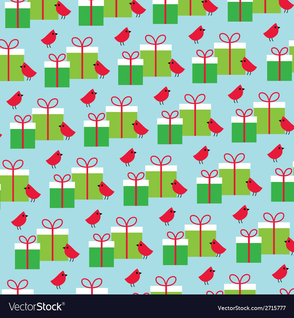 Birds and gifts vector | Price: 1 Credit (USD $1)
