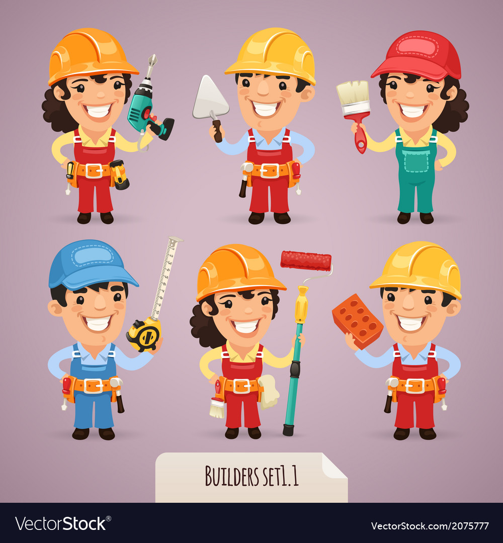 Builders set1 1 vector | Price: 1 Credit (USD $1)