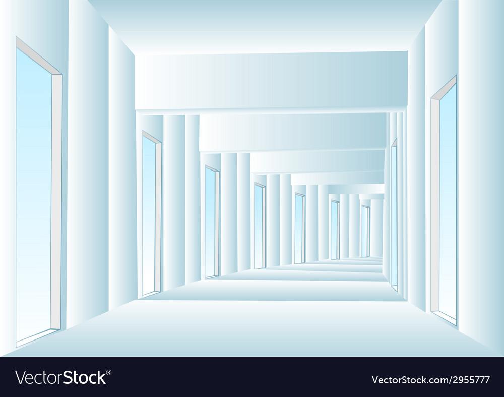 Corridor vector | Price: 1 Credit (USD $1)