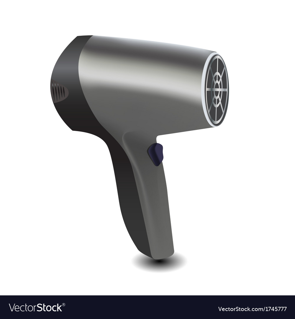 Hair dryer icon vector | Price: 1 Credit (USD $1)