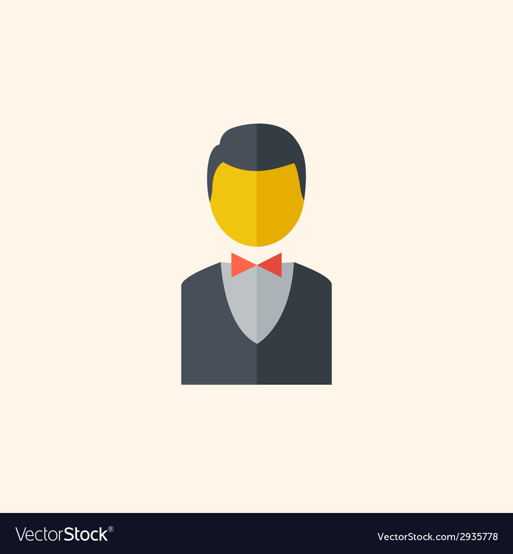 Bellboy travel flat icon vector | Price: 1 Credit (USD $1)